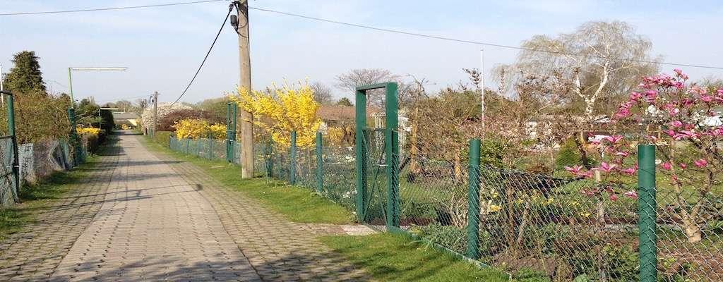 Kleingartenkolonie im Bezirk Charlottenburg